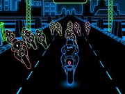 3D neoon Bike Racing