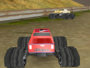Stor monstertruck