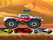 Verrückte Monstertruck