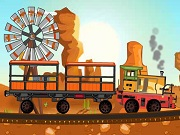 Desert Goods Train