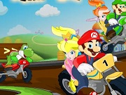 Mario pary Burnout