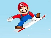 Mario Ice Skating divertimento 2