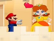 Mario möter Peach Princess