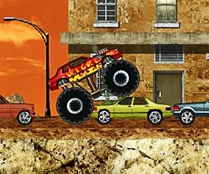 Monster Truck demoliční stroj