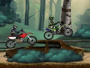 Motocross Forest uitdaging