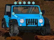 Off Road Jeep pericol