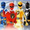 Power Rangers fight formation