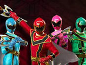 Power Rangers trening