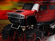 Red Hot monstertruck