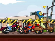 Simpsons perhe Race