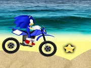Carrera en la playa Sonic