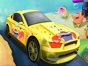 SpongeBob snelheid auto race 2