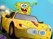 SpongeBob SpeedCar แข่ง