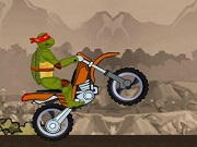 Ninja Turtle Bike Stunts